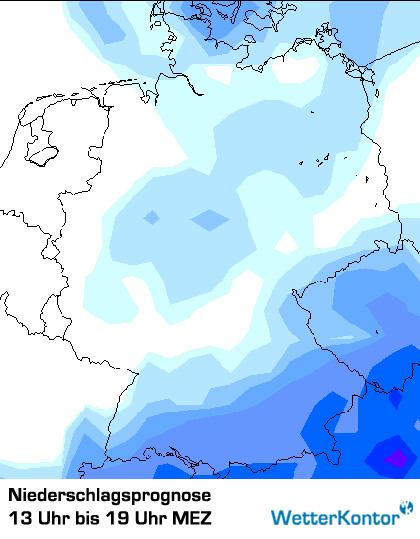 Niederschlag Deutschland