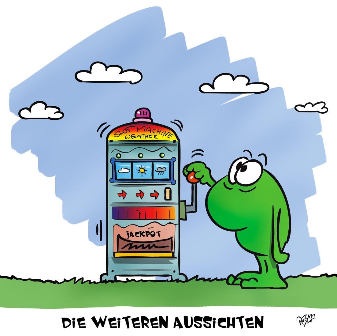 Wettercomic - Die weiteren Aussichten