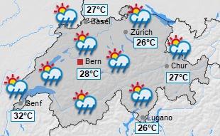 Wetter In Der Schweiz