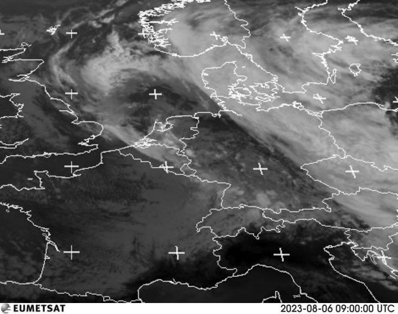 Satellitenbild Deutschland