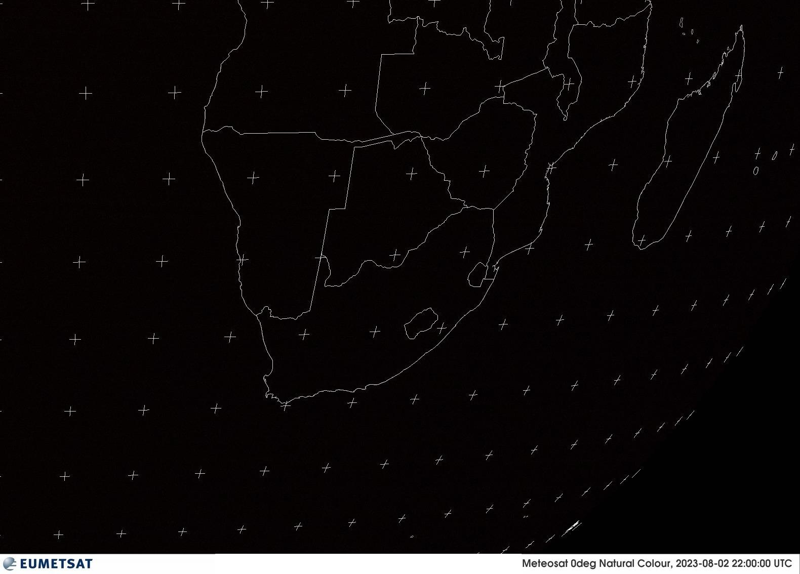Satellitenbild Südliches Afrika