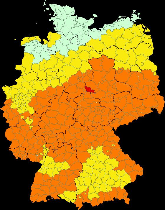 Regenradar Schweinfurt