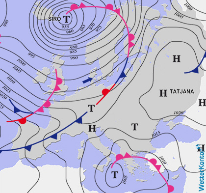 Conditions météorologiques 10.12.2019