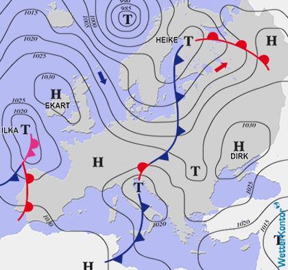 Conditions météorologiques 19.01.2020