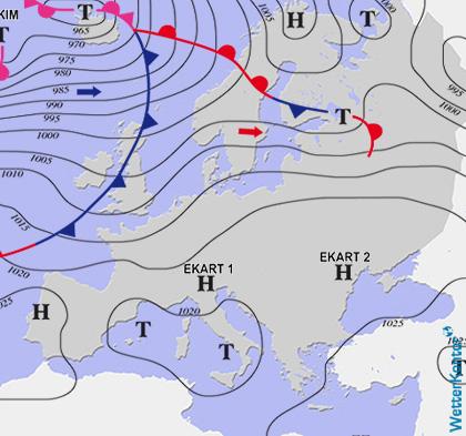 Aktuelle Wetterlage am 26.01.2020