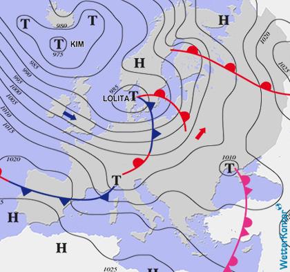 Conditions météorologiques 28.01.2020
