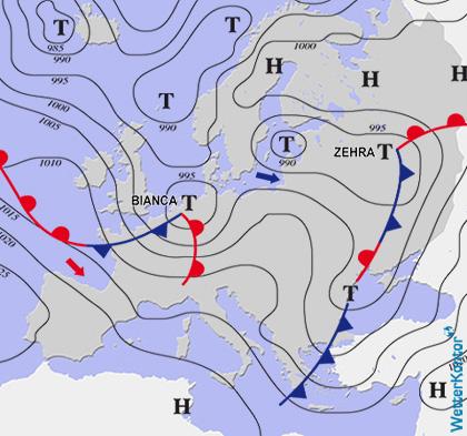 Aktuelle Wetterlage am 27.02.2020
