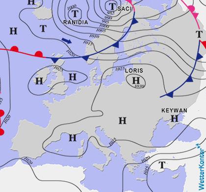 Conditions météorologiques 08.04.2020