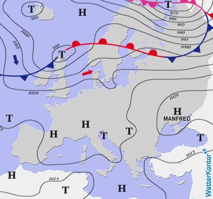 Conditions météorologiques 22.09.2020