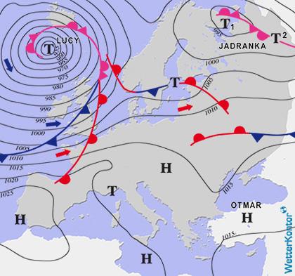 Conditions météorologiques 24.10.2020