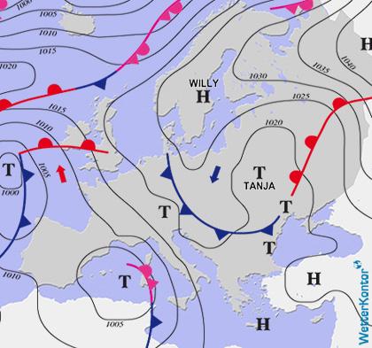 Conditions météorologiques 28.11.2020