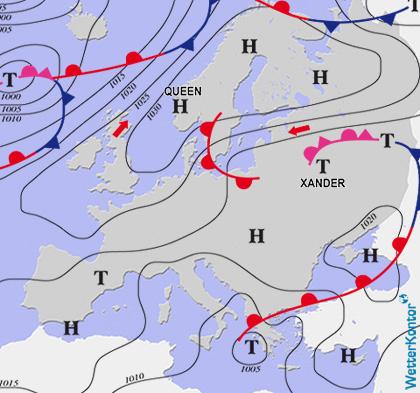 Conditions météorologiques 17.04.2021