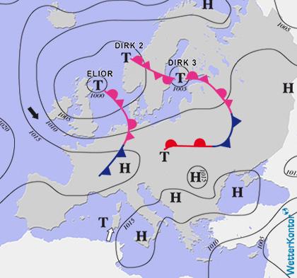 Conditions météorologiques 28.07.2021