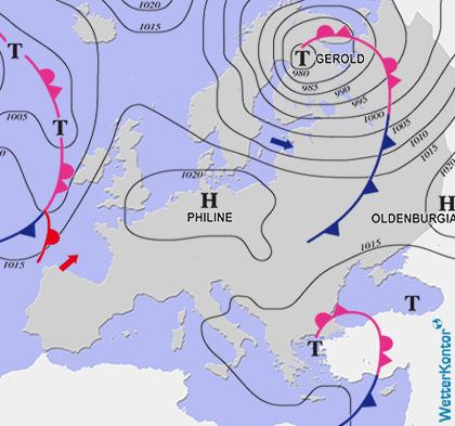 Conditions météorologiques 16.10.2021