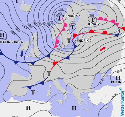 Conditions météorologiques 21.10.2021